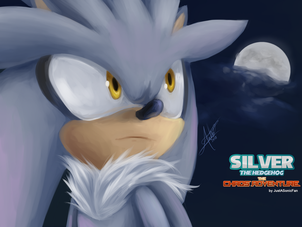 Silver: The Chaos Adventure - Wallpaper by JustASonicFan