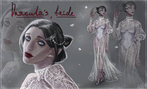 ADOPTABLE AUCTION - Dracula's Bride - OPEN by WhiteFox-N