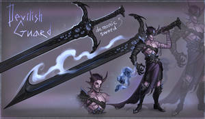 Devilish Guard - ADOPTABLE AUCTION - CLOSE -