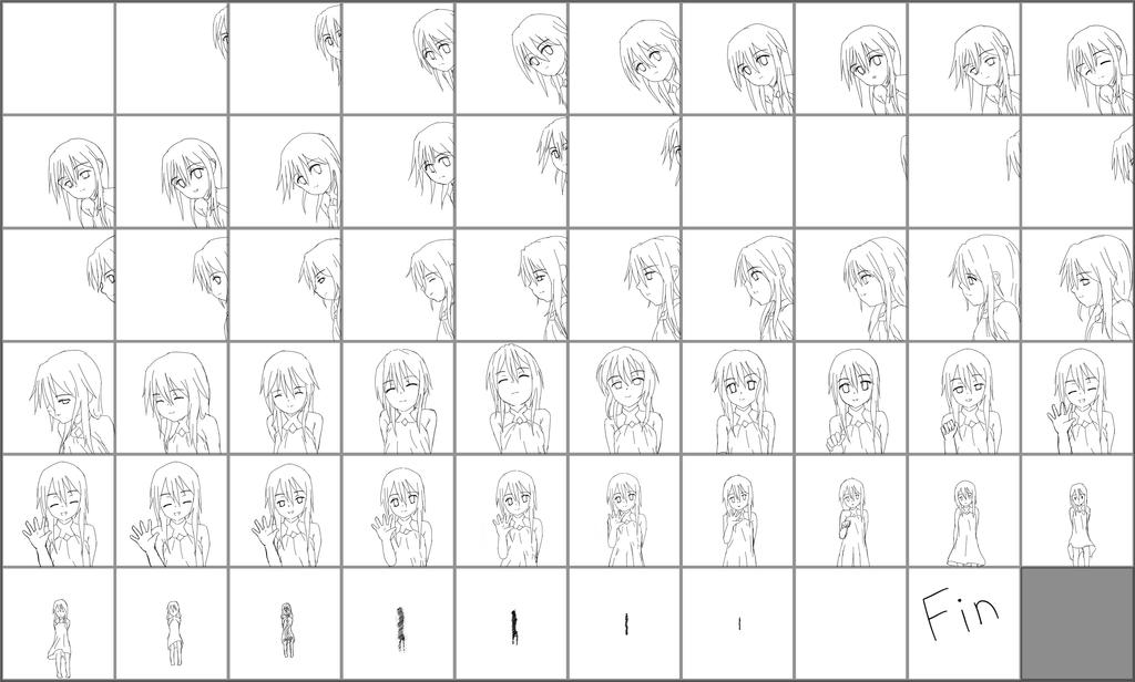 frame by frame for Won Animation by Y-enter on DeviantArt