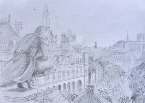 Assassin's Creed Unity  sketch