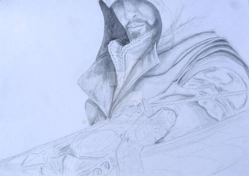 Assassin's Creed II Fan art Sketch Wip