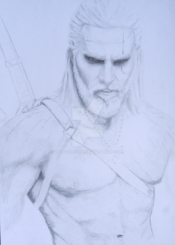 WIP The witcher by Tatooa2001