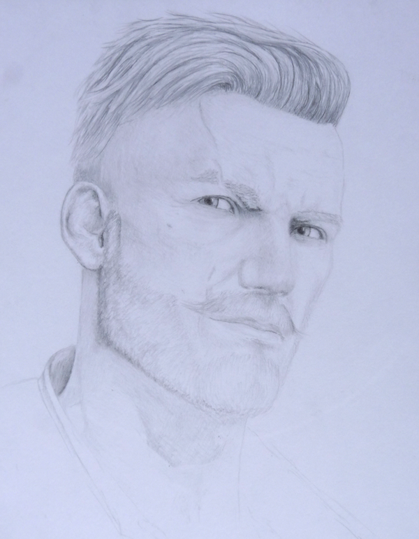 Olgierd (The Witcher 3) WIP by Tatooa2001