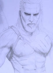 Geralt Of Rivia, The Witcher - Maul Cosplay. WIP by Tatooa2001