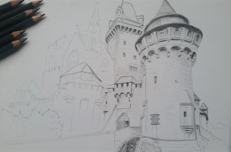 Castle WIP by Tatooa2001