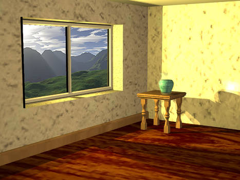 Room with hills