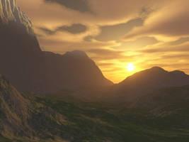 Zen Sunset by aquifer