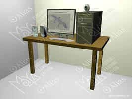 Desktop by aquifer