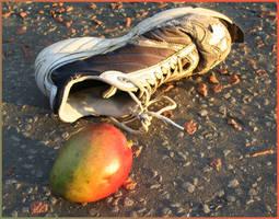 Mango and Shoe by aquifer