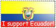 I support Ecuador by ecuatorianos