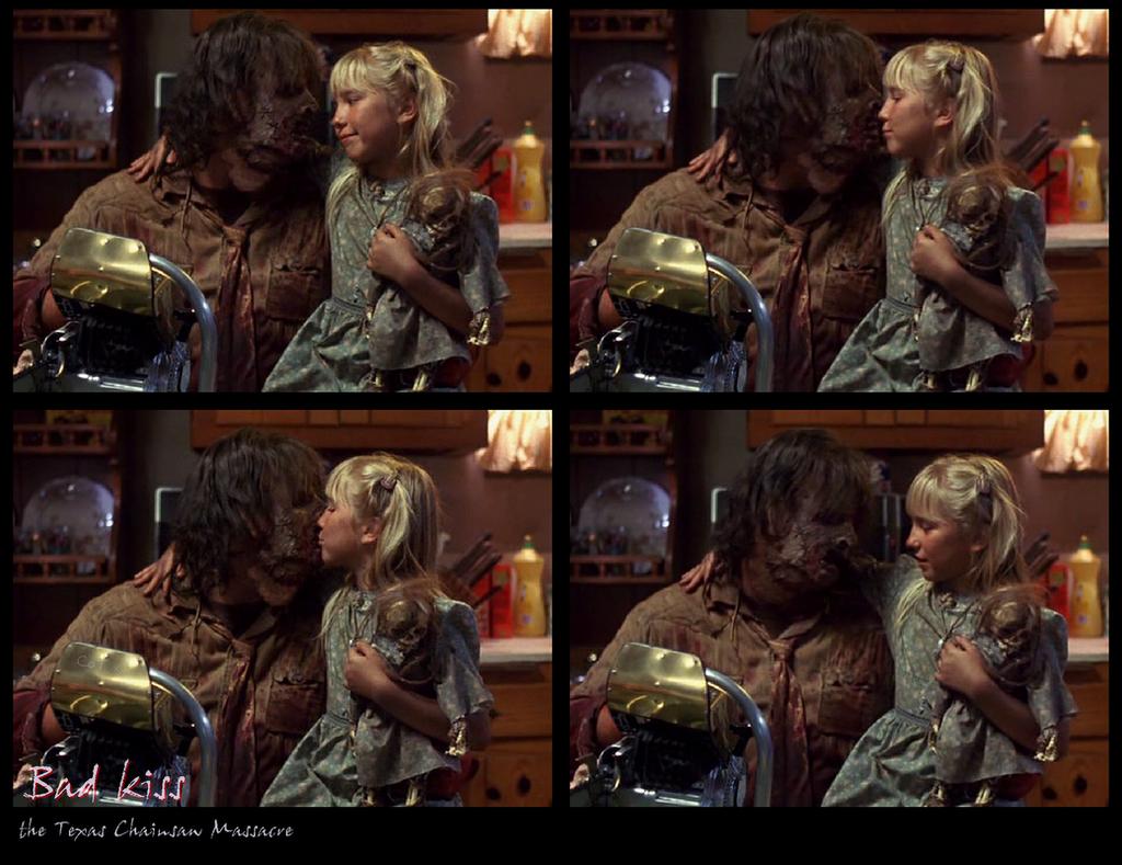 Leatherface kiss 01 by VincentSharpe