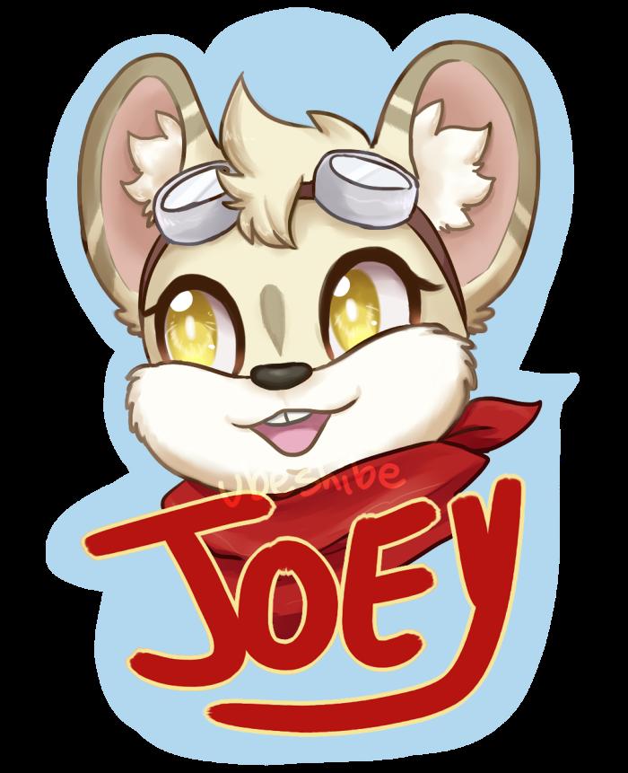 Badge: Joey by ubeshibe