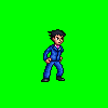 Phoenix Wright Sprite by CellularSP