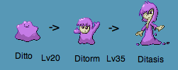 Fakemon - Ditto Evos by CellularSP