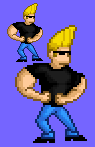 Johnny Bravo Sprite by CellularSP