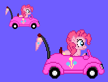 Pinkie Car by CellularSP