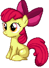 Applebloom Pixel Art by CellularSP