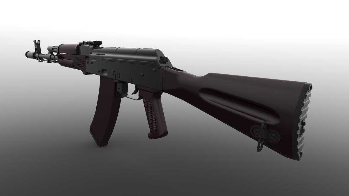 AK 74 Fixed Stock Plum Furniture By UlricConnal ...