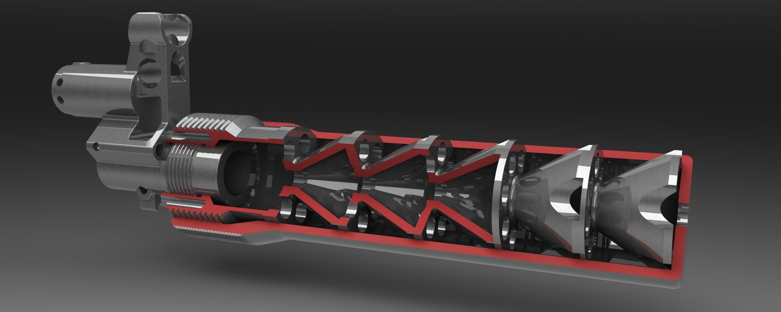 Cutaway Mk2 Silencer by UlricConnal on DeviantArt