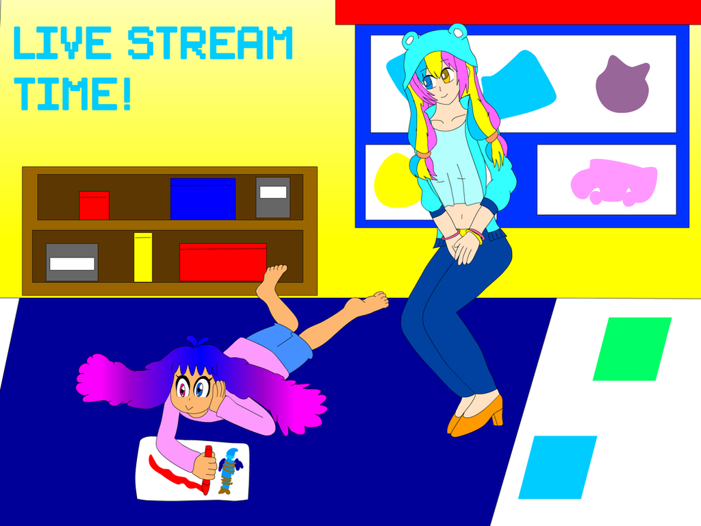 NEW Live Stream Poster ONLINE! by SuperTailsHero