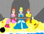 Princesses In Cave
