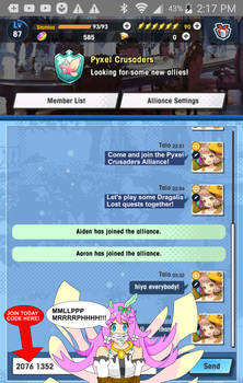 Dragalia Lost Alliance JOIN NOW!