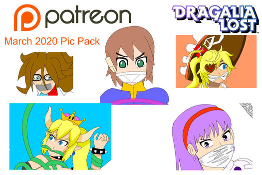 Patreon Pack March 2020
