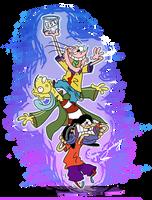 Ed Edd n Eddy - Basic Color Background by AwesomeAartvark