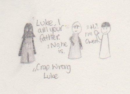Wrong Luke by EllenViolet