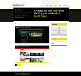 Pixel Bright CSS Gallery by slowduck