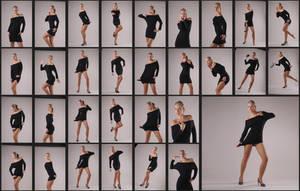 Jenni-stock-black dress by Digigenic