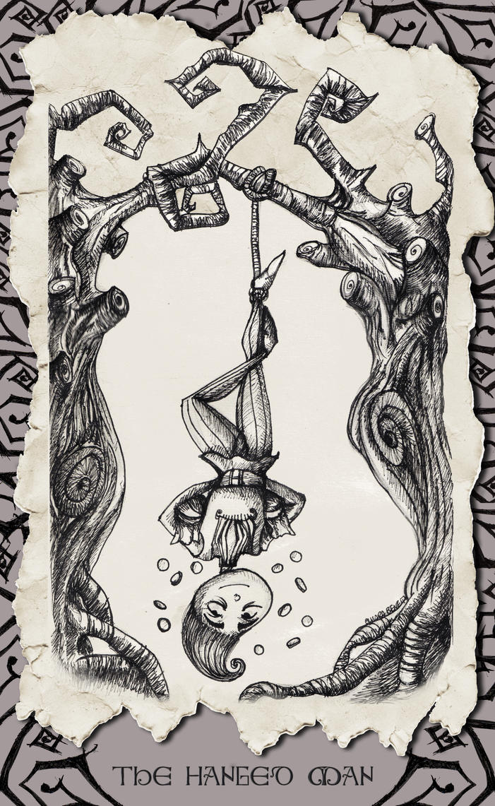 The Hanged Man by SibylWhite