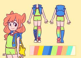 Outfit design - Nugget by Loojiom
