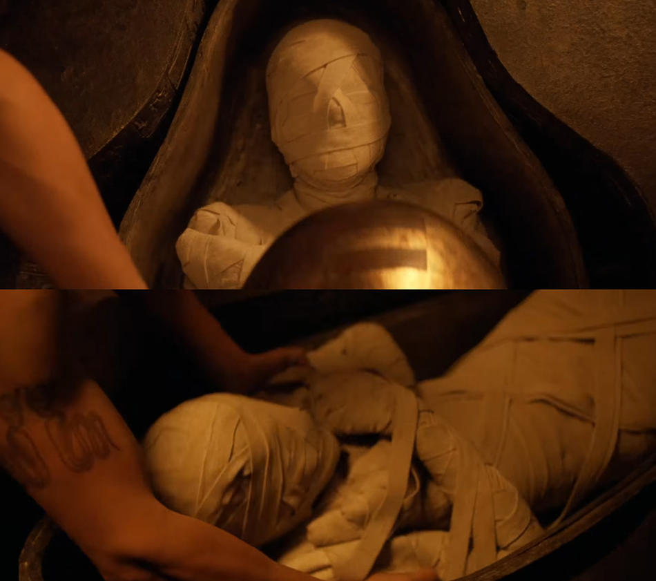 Ahmanet Mummified completely by mummiesnstuff