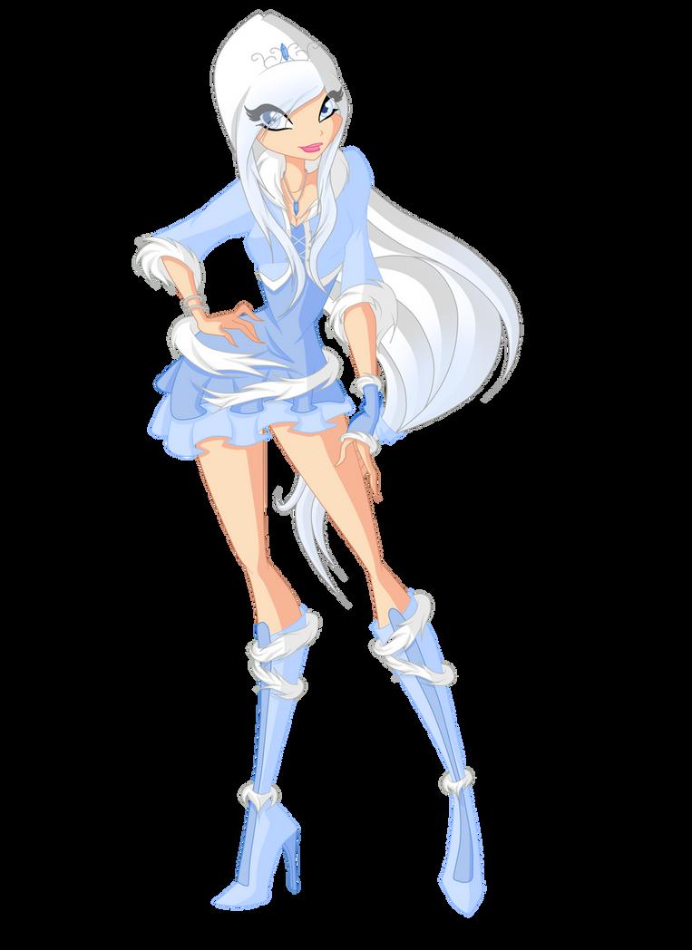 New Winx Oc: Yuki Frost (Season 1) by xXDiamondStarXx