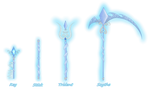 Sahras Magical Keylix Weapons