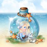 ~ Mermaid in a bottle ~