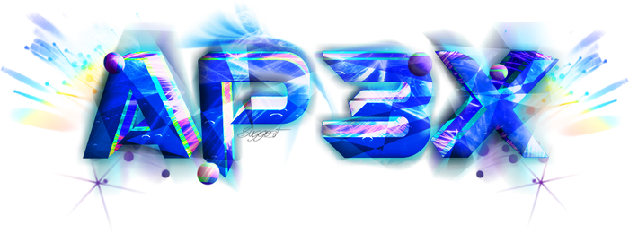 Ap3x 3D Logo New Style - By SuggesT (Aviad)