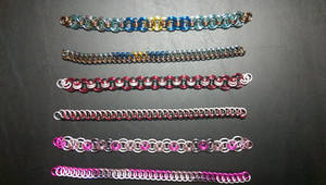 Fallout Equestria Mane Character Themed Bracelets