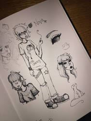 Nova Sketch Dump
