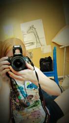 Artist At Work II by xLoup-Garou