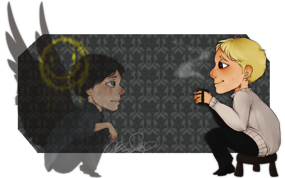 Tea Time - Sherlock by Moriartea-time