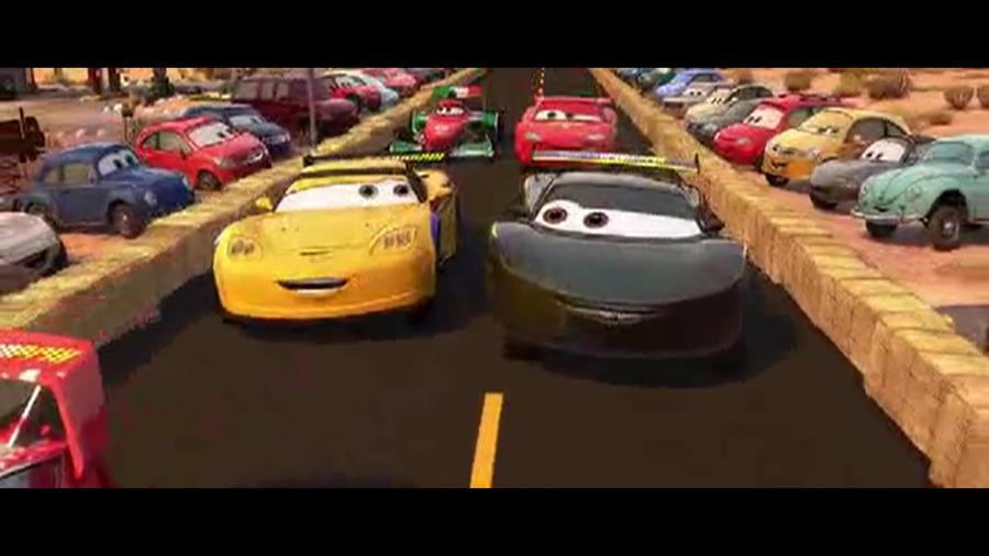Cars 2 Jeff Gorvette And Lewis Hamilton