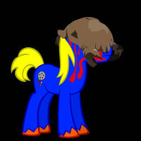Pony Joe's Halloween Costume by BronyDanceParty