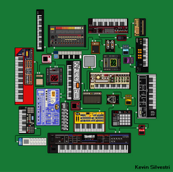 PIXEL SYNTHESIZERS set 1