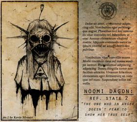 Noomi Dagon - State 2 by dustyportrait