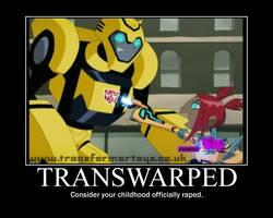 TRANSWARPED De-Motivator by purpletiger