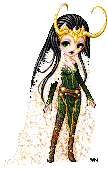 Lady Loki by RenesmeeNessie