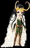 Lady Loki by RenesmeeNessie